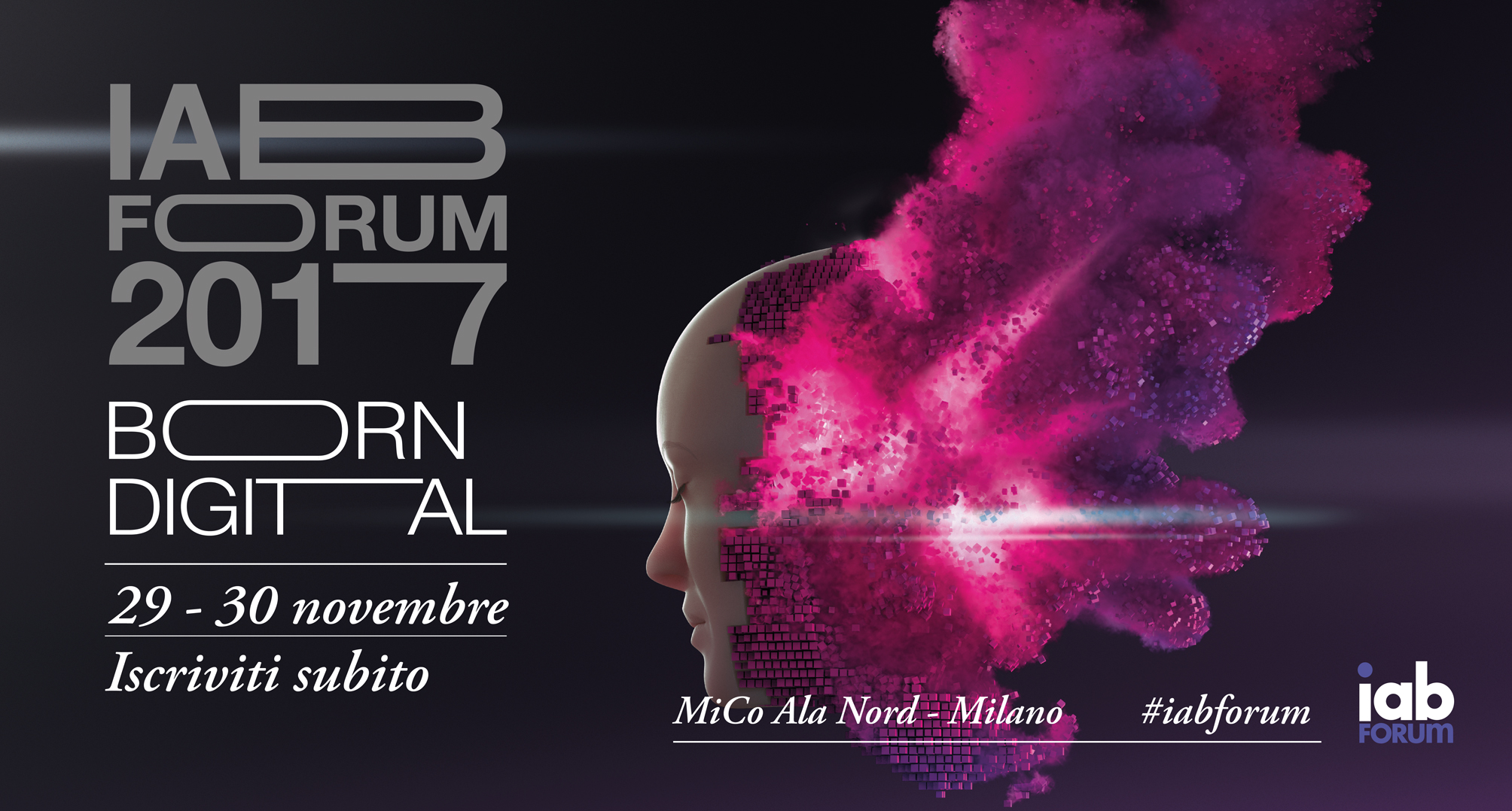 IAB Forum is coming e quest'anno è Born Digital