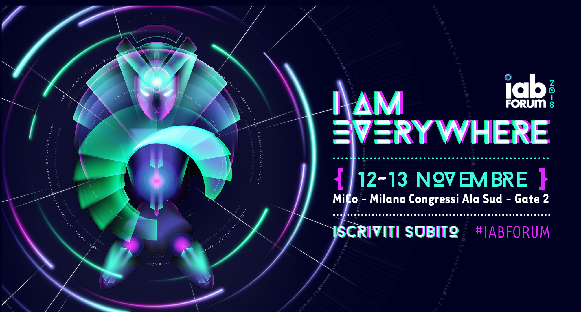 "APERTE LE ISCRIZIONI A IAB FORUM ""I AM EVERYWHERE – Challenges of Mobile Society"""