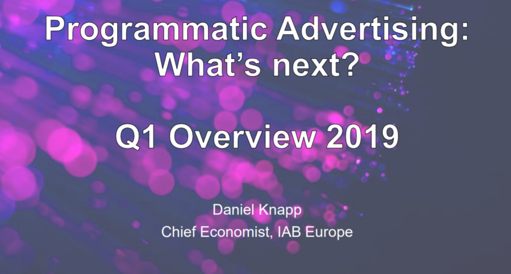 Lo stato attuale del mercato del programmatic advertising: insight 2019