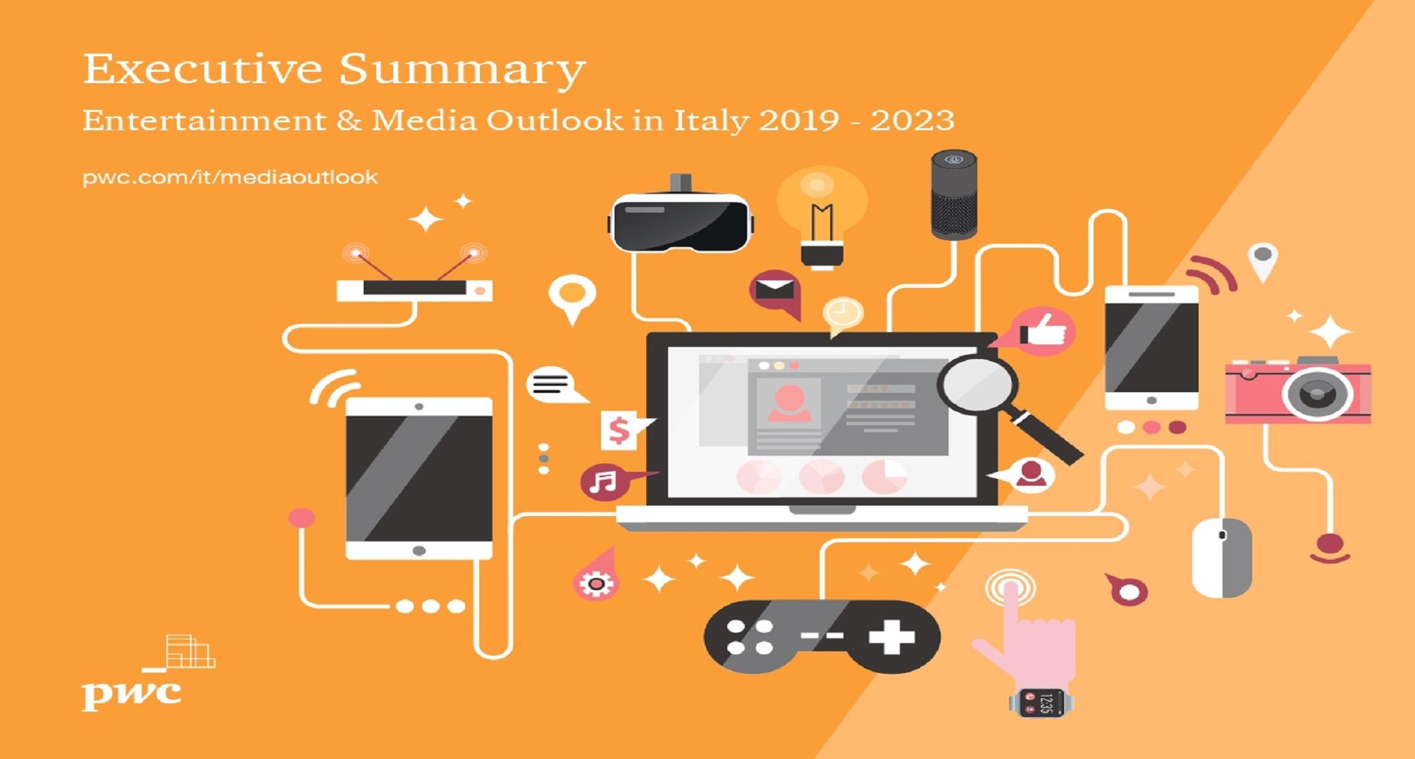 Mercati in rialzo: le previsioni PwC 2023 per i media web