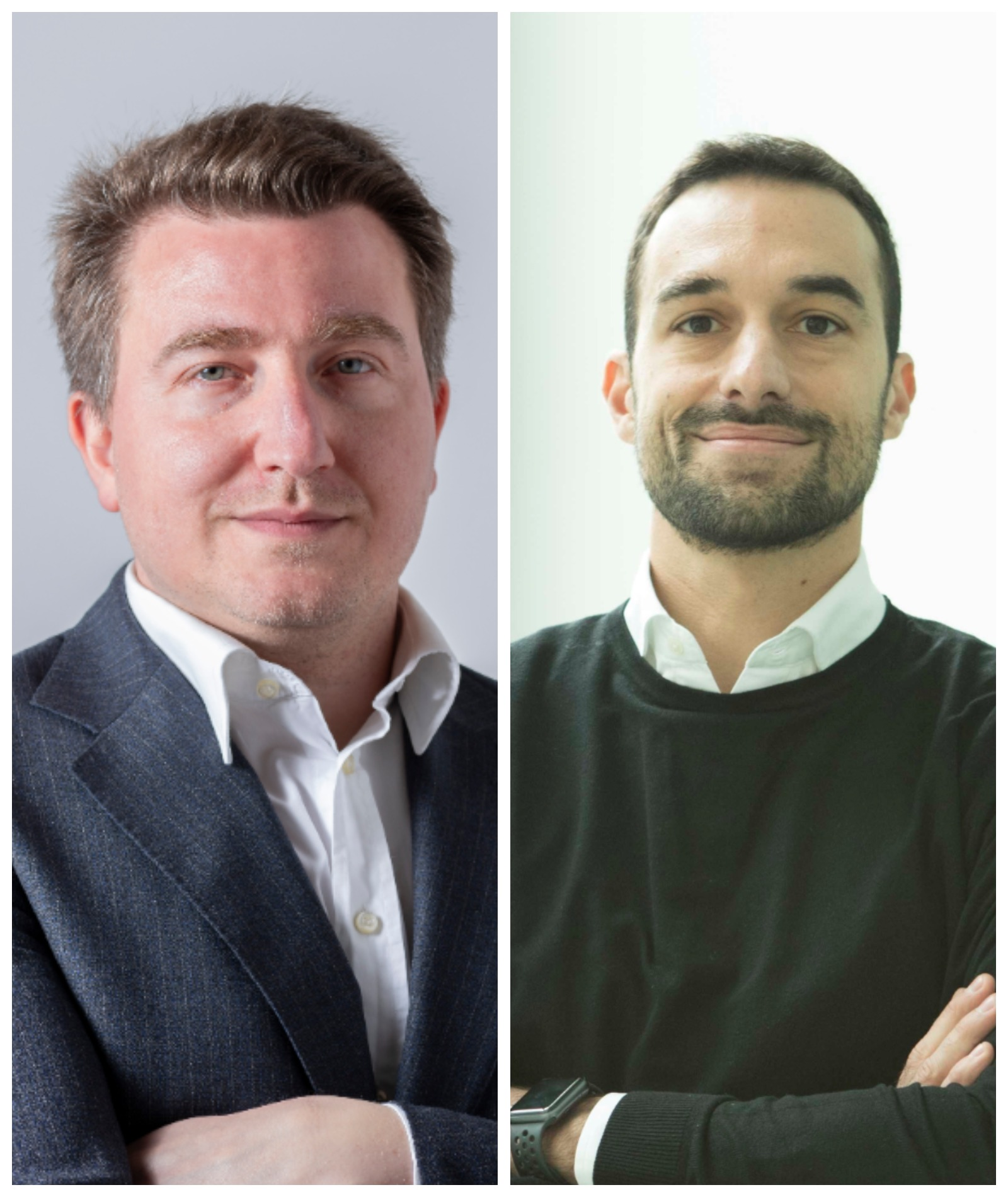 Sebastiano Cappa, Managing Director Italy di Outbrain, e Marco Sorrentino, Content Director Publicis Media