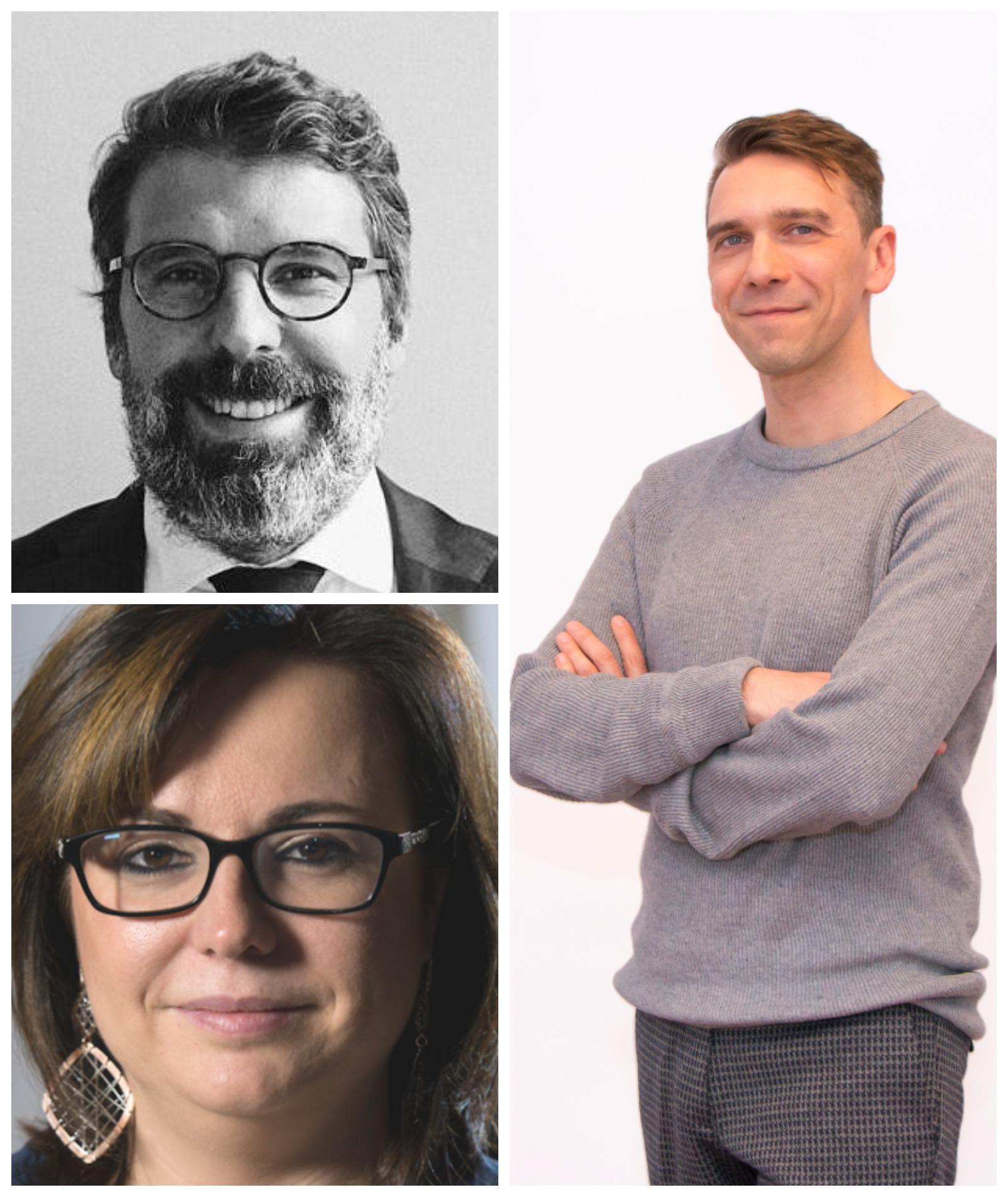 Enrico Torlaschi e Luca Comino, E3, e Sabrina Biasio, VRZONE