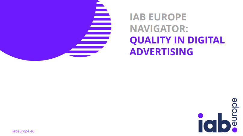 L'IQI nel report sulle soluzioni di Quality and Transparency di IAB Europe