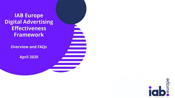 Digital Advertising Effective Framework: IAB Europe armonizza il linguaggio del digital adv