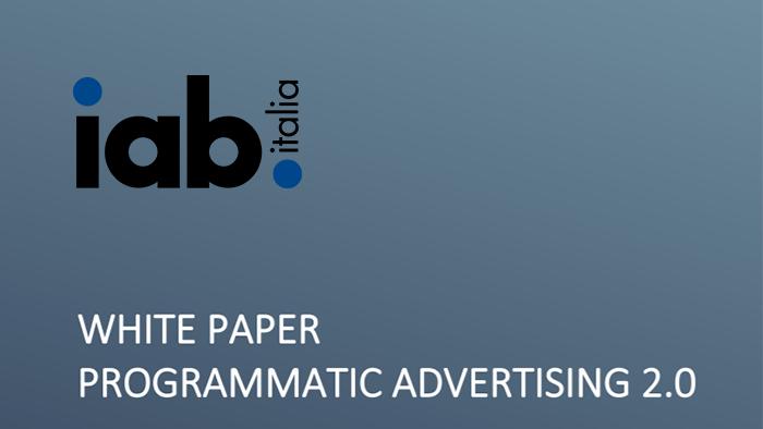 E' online il White Paper Programmatic 2.0