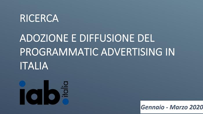 Adozione e Diffusione del Programmatic Advertising in Italia: leggi la ricerca